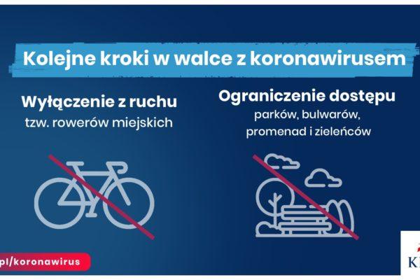 3. ograniczenia rowery bulwary